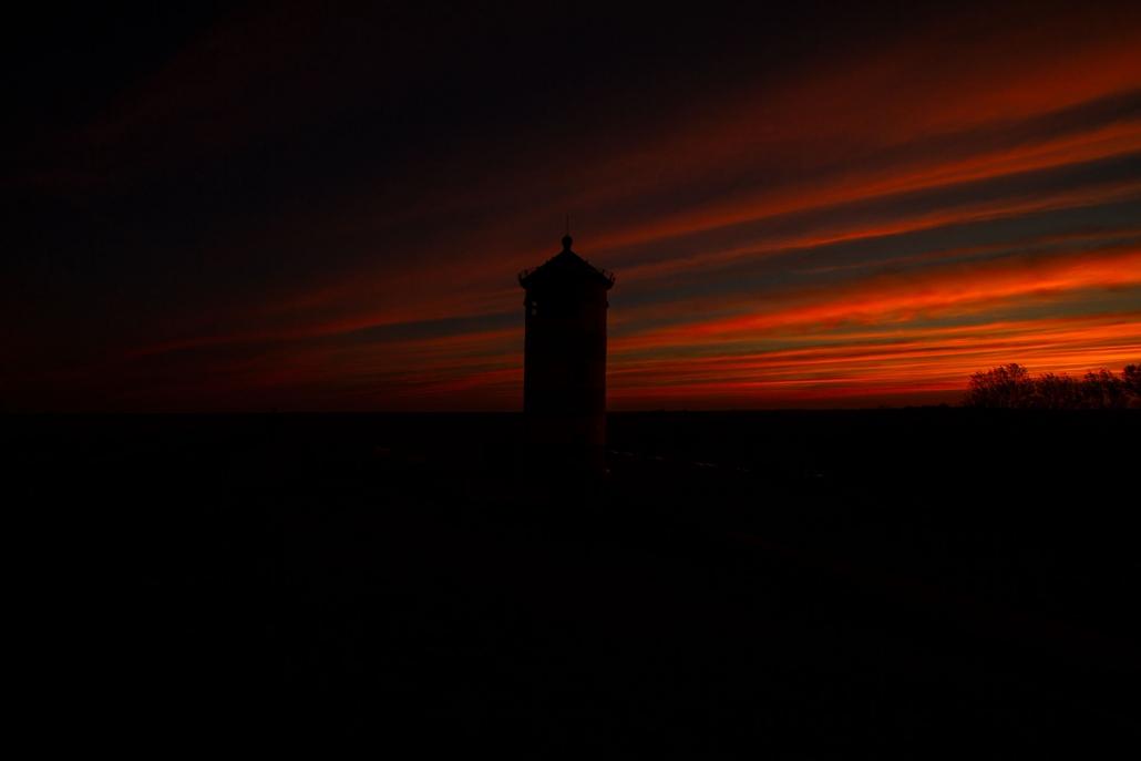 sunset pilsum