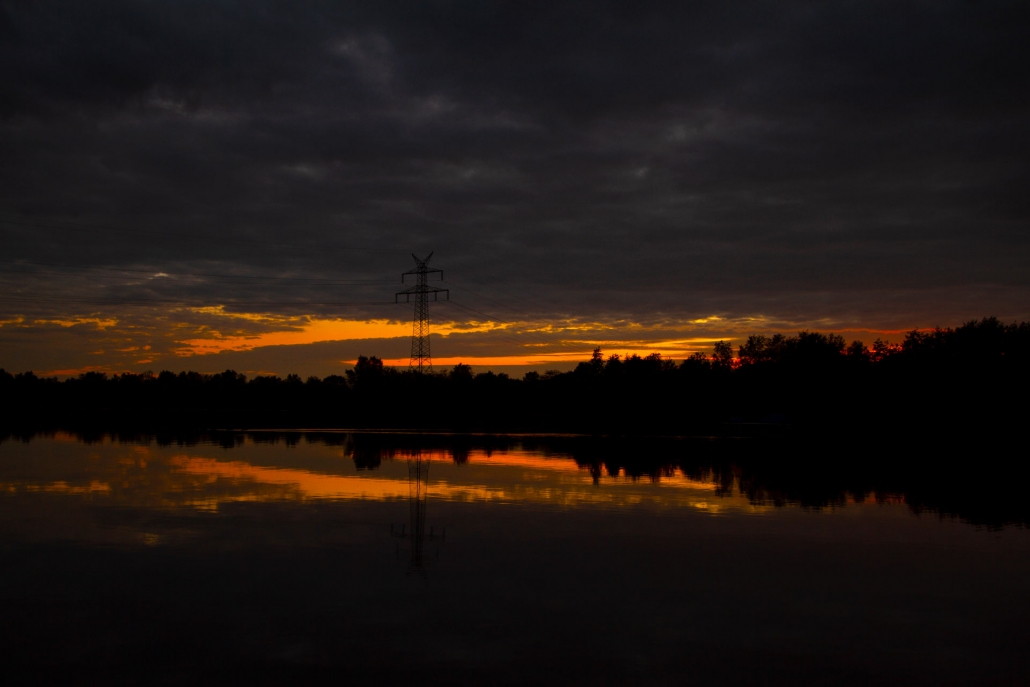 sunset timmel timmeler meer