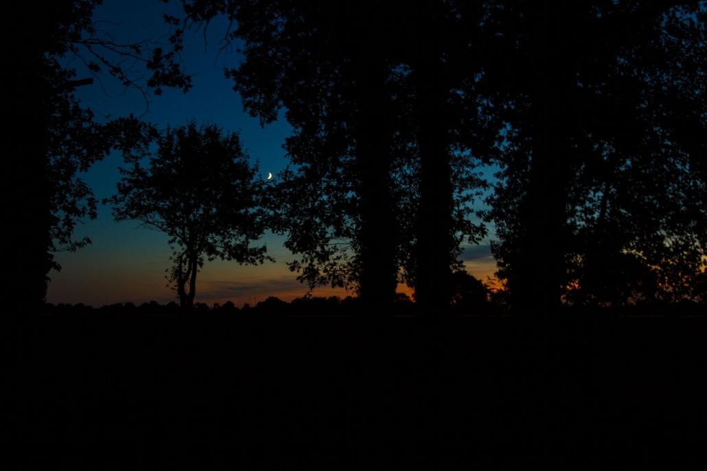 sunset blue hollsand